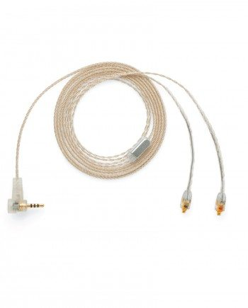Tinsel Wire 2.5mm Right Angle Overmold to MMCX Over Mold by ALO audio